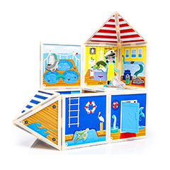 Build and Imagine playsets