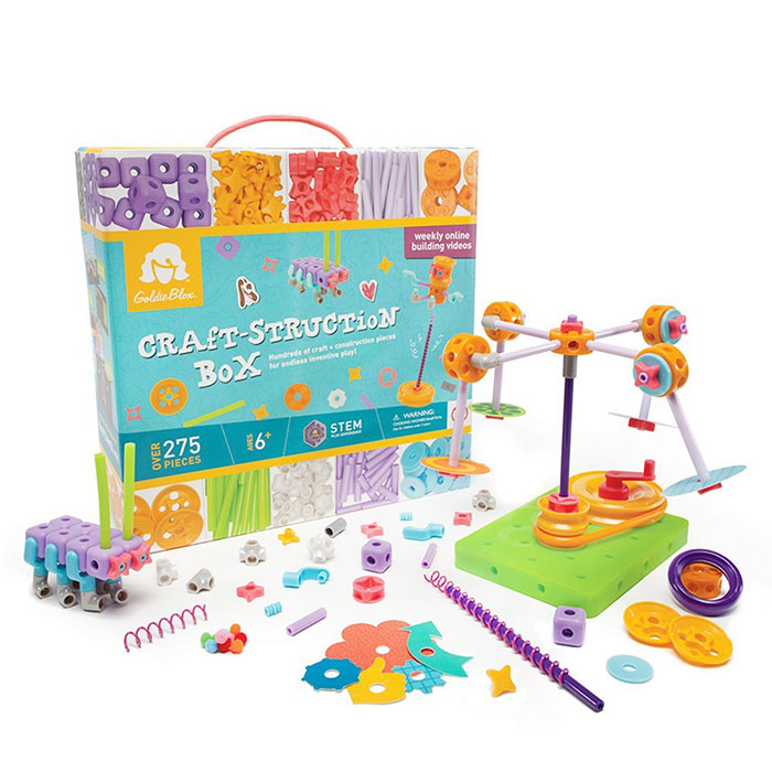 Goldieblox craft-struction box