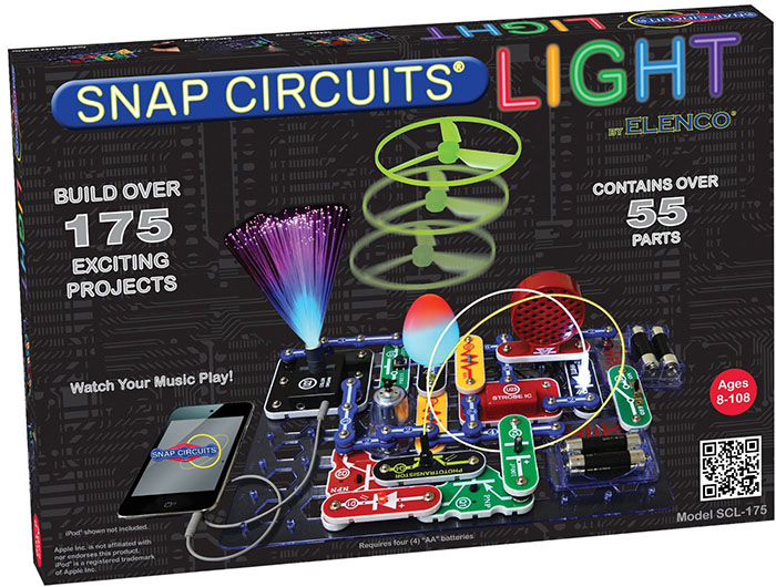 Snap Circuits Lights Electronics Discovery Kit