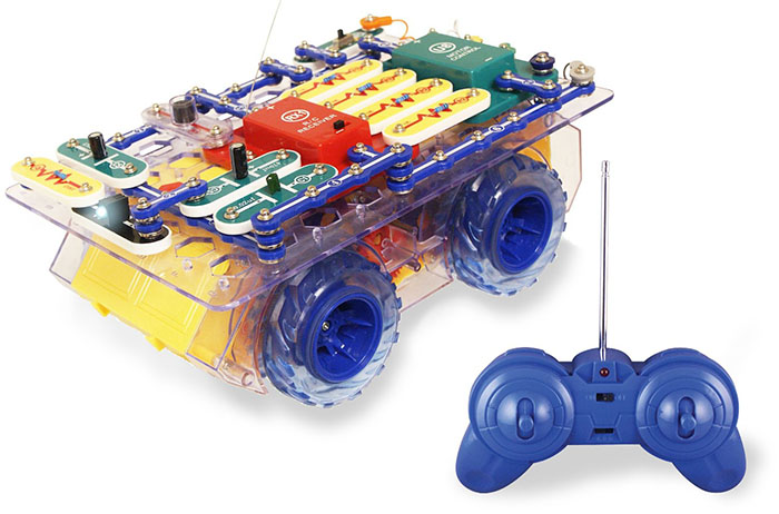 Snap Circuits R/C Rover